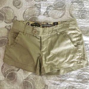 Khaki Free Style Revolution shorts